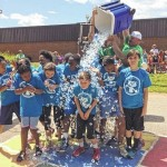 Central Elementary fifth-graders get showered with fun