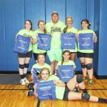 Spring volleyball winners — 15-17 year old division