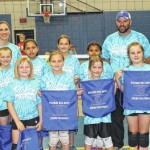 Spring volleyball winning team — 7-9 division