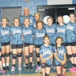 Spring volleyball 10-12 winning team