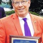 Dobbins receives Parris Agriculture Leadership award