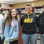 DHS German students excel in contest