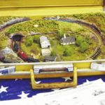 Train show off the rails