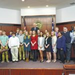 EHS band honored by council