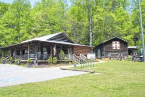 Deep Winter Blues set for Hagood Mill Historic Site