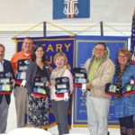 Pickens Rotary donates AEDs to 4 groups