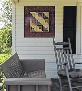 """On My Farm"" added to Upstate Heritage Quilt Trail in Long Creek"