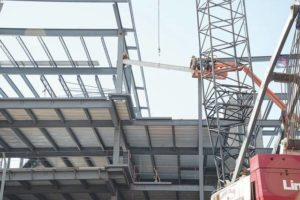 Topping off ceremony held for student success center