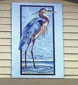 Blue Heron added to Quilt Trail in Salem