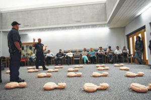County employees get valuable CPR training