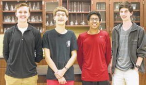 Daniel students sweep Chemistry Olympiad