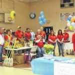 Liberty Lions have successful walk, health fair