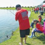 Fishing day for kids