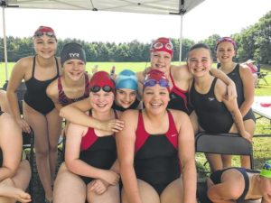 Pickens County YMCA Piranhas swimmers compete at Pickens, Laurens meets