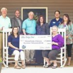 Blue Ridge Electric Cooperative presents beneficiaries with Blue Ridge Fest funds