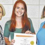 P.E.O. STAR Scholarship awarded