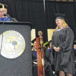 Mary Geren receives Tri-County Presidential Medallion for Instructional Excellence