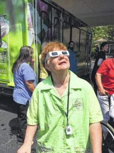 Easley experiences the Total Solar Eclipse