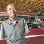 Clemson MBAe grad Richie Parker embraces life