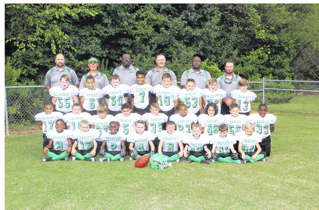 fd93af28a 8U Easley White tops Greenwood for Youth Football Palmetto State Tournament
